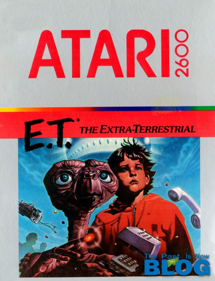 Atari 2600 ET the past is now blog ivelias zero
