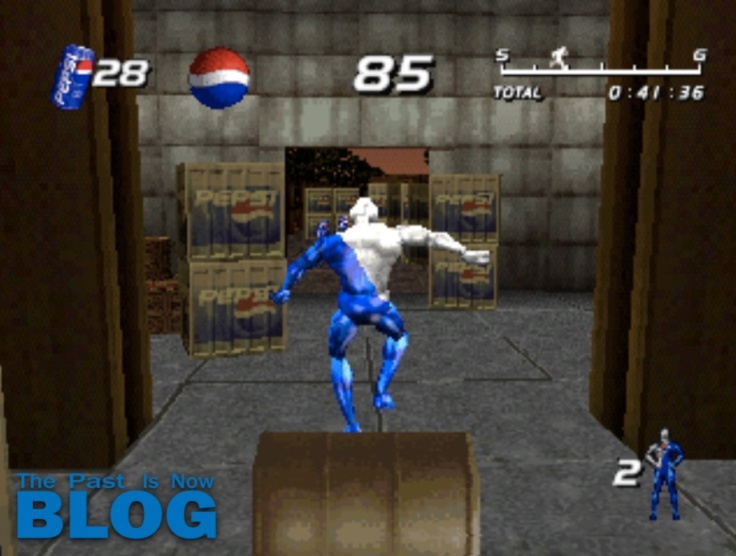 pepsiman interlude gameplay the past is now blog analysis