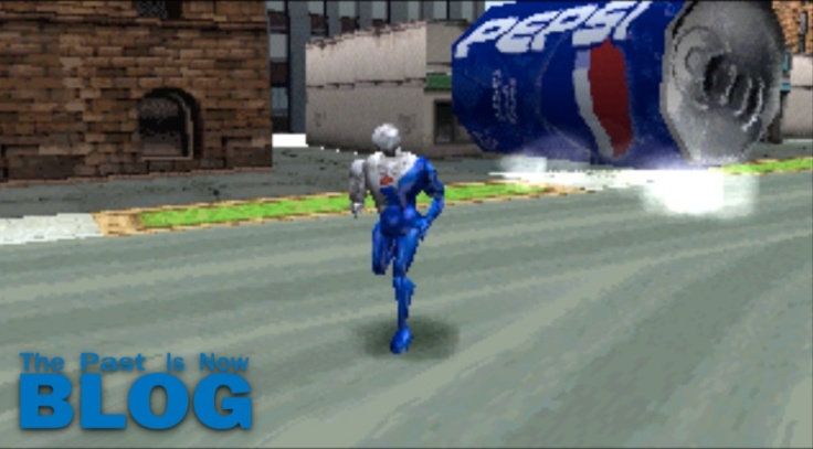 run run pepsiman psx playstation kid gameplay the past is now blog analisis