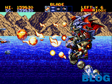 Thunder Force IV Boss The Past is Now Blog, Analisis Ivelias Zero 25