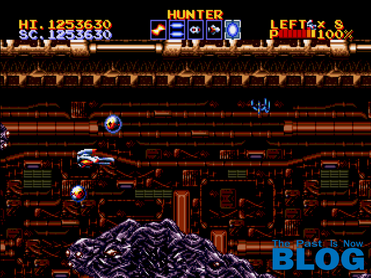 Thunder Force IV Boss The Past is Now Blog, Analisis Ivelias Zero nivel 6