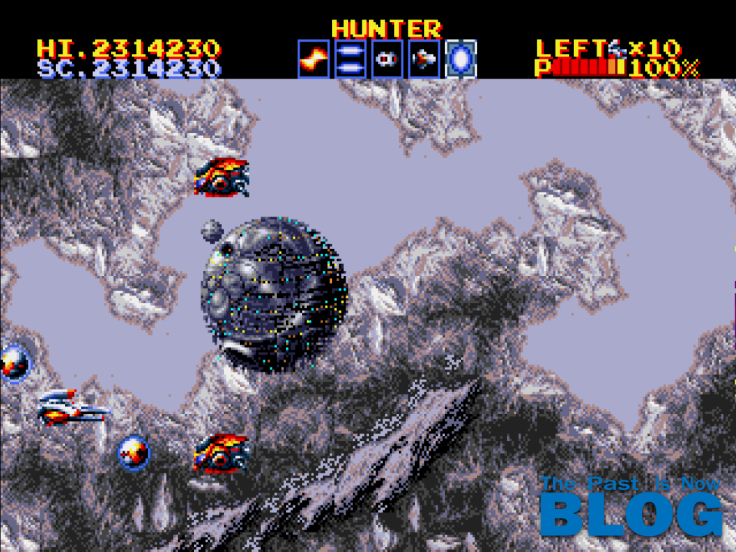 Thunder Force IV Boss The Past is Now Blog, Analisis Ivelias Zero nivle 2