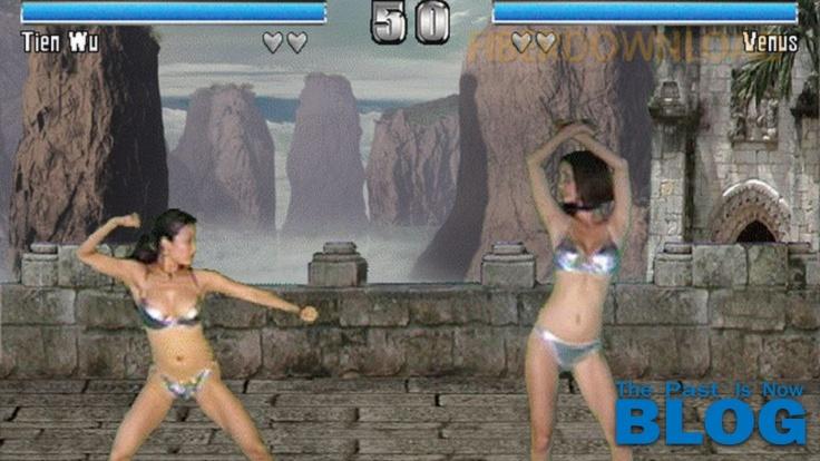 bikini karate babes the past is now blog videojuegos eroticos