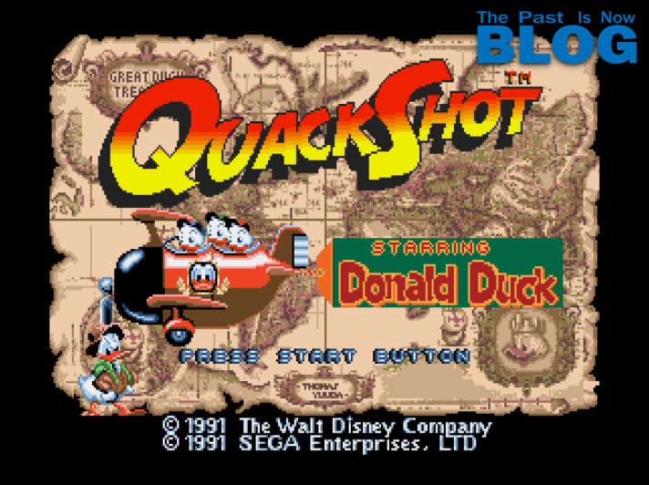 Quackshot Donal Duck The Past Is Now Blog Ivelias Zero Analisis