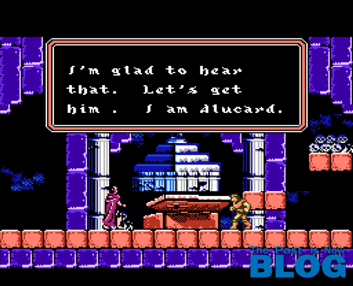Castlevania III 3 Draculas Curse NES Gameplay the past is now blog analisis ivelias zero 15