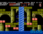 Castlevania III 3 Draculas Curse NES Gameplay the past is now blog analisis ivelias zero 17
