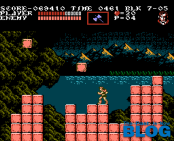 Castlevania III 3 Draculas Curse NES Gameplay the past is now blog analisis ivelias zero 19