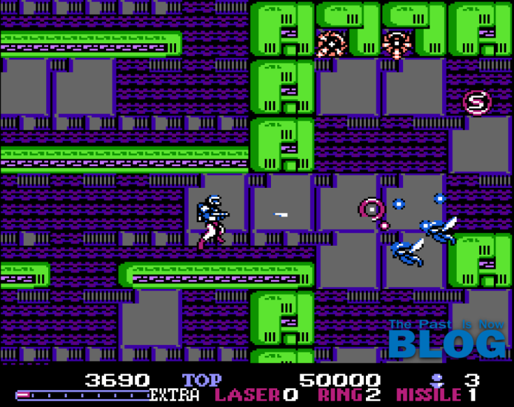 burai fighter nes stage 1 the past is now blog analisis review