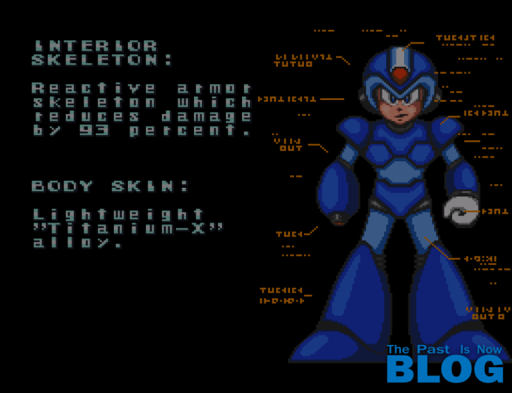 the past is now blog análisis review megaman x snes info inicial