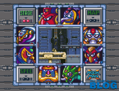 the past is now blog análisis review megaman x snes seleccion jefe nivel