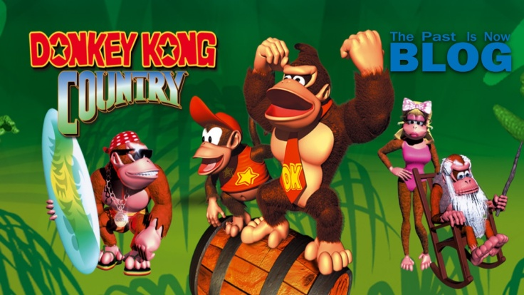 The past is now Donkey Kong Country análisis portada