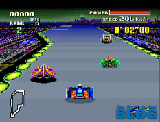 F-Zero SNES MINI the past is now screenshot 2
