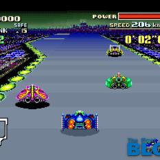 F-Zero SNES MINI the past is now screenshot 2
