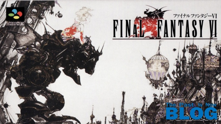 Final Fantasy VI SNES Mini portada the past is now blog