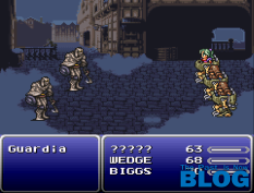 Final Fantasy VI the past is now snes mini screenshot