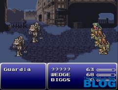 Final Fantasy VI the past is now snes mini screenshot