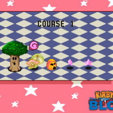 Kirby Dream Course the past is now blog screenshot snes mino