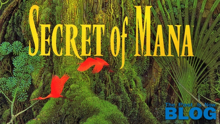 Secret of Mana The Past is Now COVER SNES mini