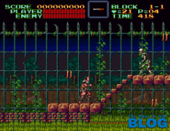Super Castlevania IV the past is now blog screenshot snes mini 2