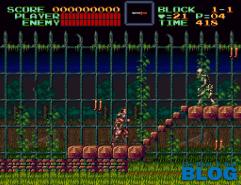 Super Castlevania IV the past is now blog screenshot snes mini 2