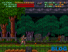 Super Castlevania IV the past is now blog screenshot snes mini