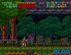 Super Castlevania IV the past is now blog screenshot snes mini