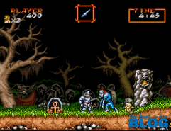Super Ghouls _n Ghosts the past is now blog snes mini screenshot 2