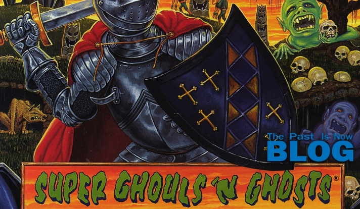 super ghouls n ghost the past is now blog snes mini cover