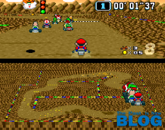 super mario kart the past is now blog snes mini screenshot 1