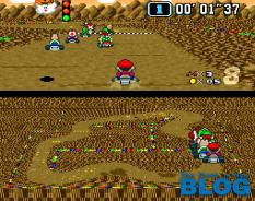 super mario kart the past is now blog snes mini screenshot 1