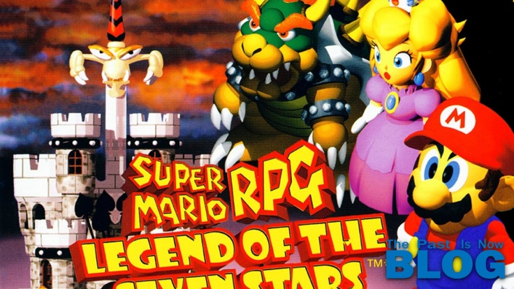 Super Mario RPG Legend of the Seven Stars the past is now blog snes mini cover