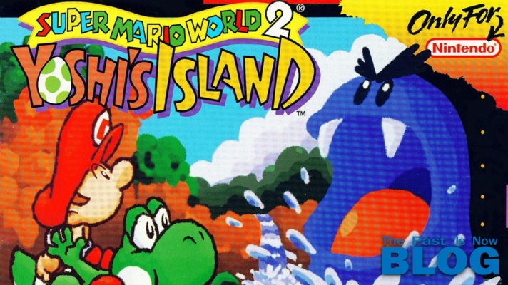 super mario world 2 yoshi's island the past is now blog snes mini cover
