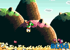 super mario world 2 yoshi's island the past is now blog snes mini screenshot 2