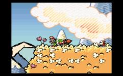 super mario world 2 yoshi's island the past is now blog snes mini screenshot 3