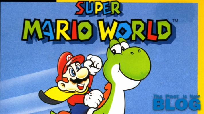 Super Mario World The past is now blog snes mini cover