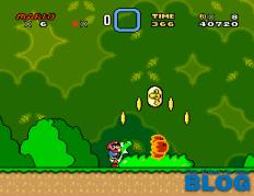 Super Mario World the past is now blog snes mini screenshot 1