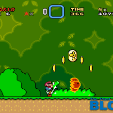 Super Mario World the past is now blog snes mini screenshot 1