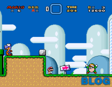 Super Mario World the past is now blog snes mini screenshot 3