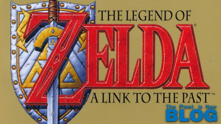 The Legend of Zelda A Link To The Past The Past is Now SNES MINI cover