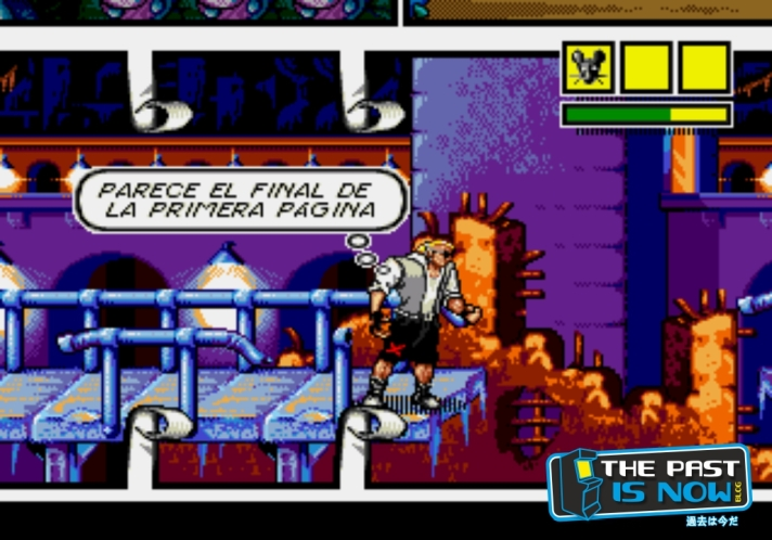 Comix Zone the past is now analisis cabesa freeman (17)