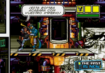Comix Zone the past is now analisis cabesa freeman (56)
