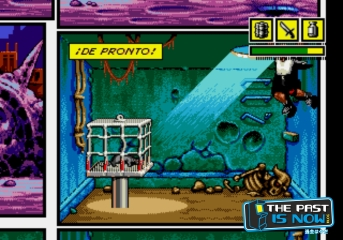 Comix Zone the past is now analisis cabesa freeman (9)