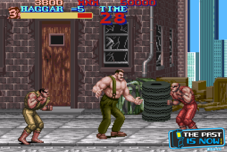 Final Fight SNES Pako Mulero The Past is now