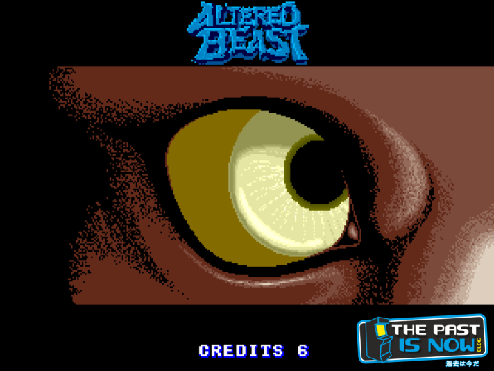 the past is now blog análisis altered beast pako mukero
