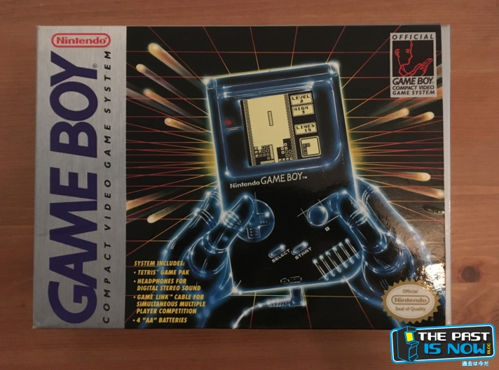 caja tetris colección ivelias zero the past is now game boy