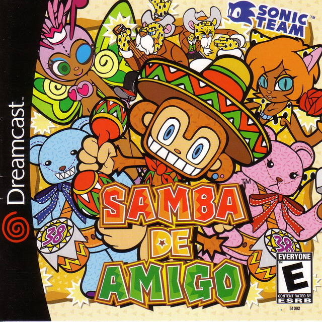 samba de amigo cover the past is now blog