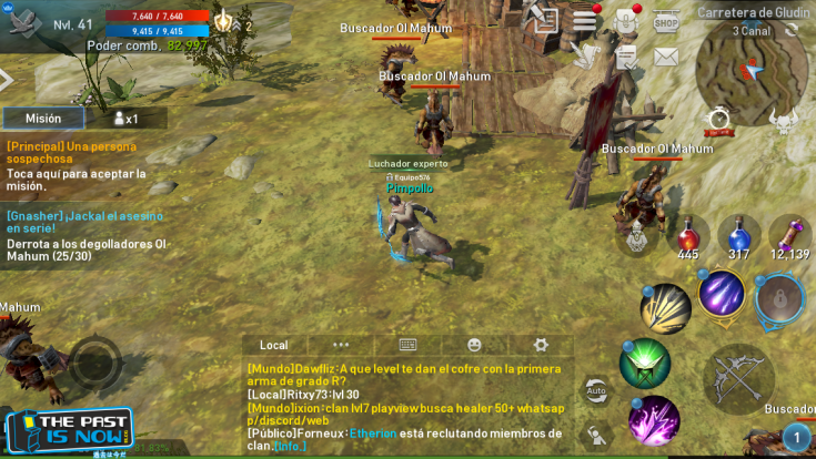 the past is now blog lineage 2 revolution screenshot impresiones 6