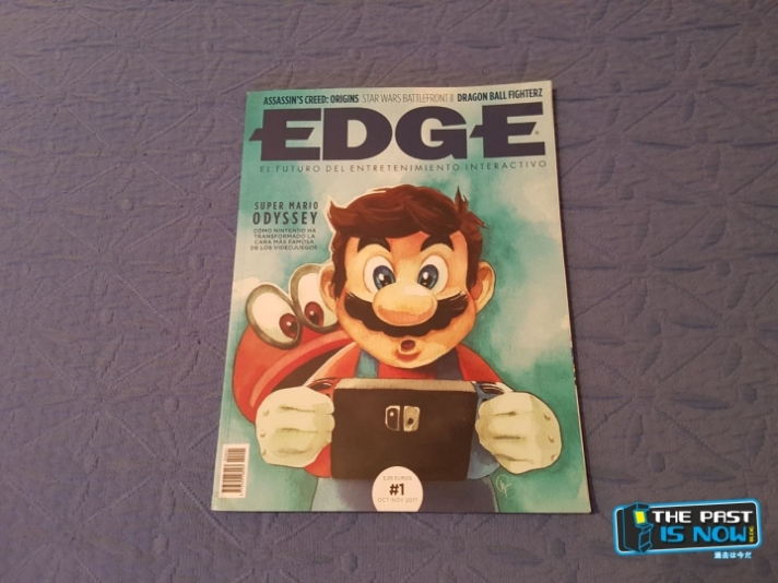 The past is now reportaje revista EDGE