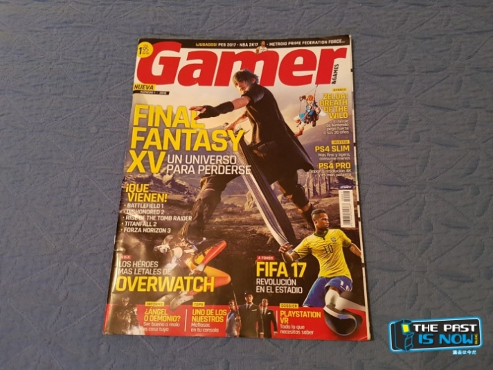 The past is now reportaje revista GAMER