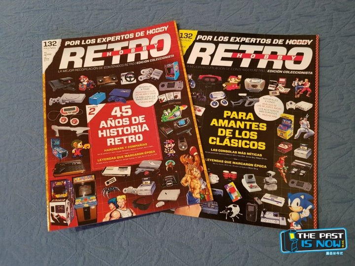 The past is now reportaje revista RETRO HOBBY